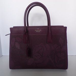 Kate Spade Cameron Perforated Candace Satchel